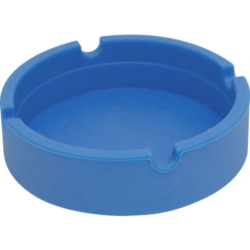Blue Silicone Ashtray