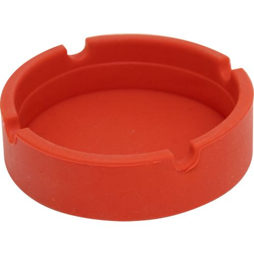Red Silicone Ashtray
