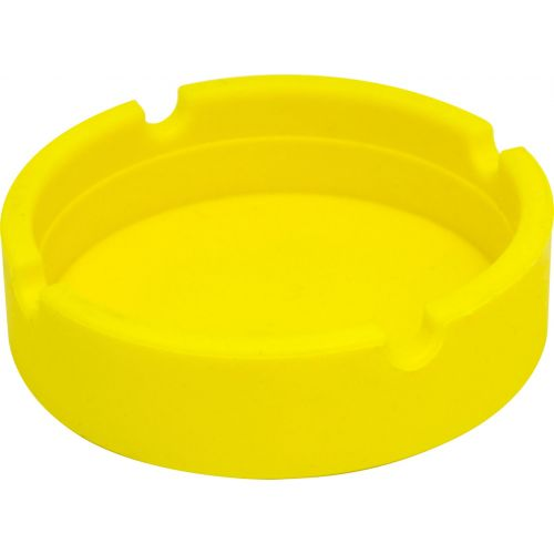 Yellow Silicone Ashtray
