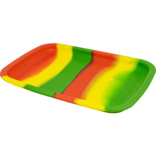 Silicone Rainbow Small Rolling Tray