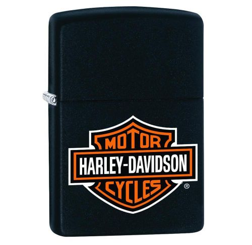 Zippo - Harley Logo Black