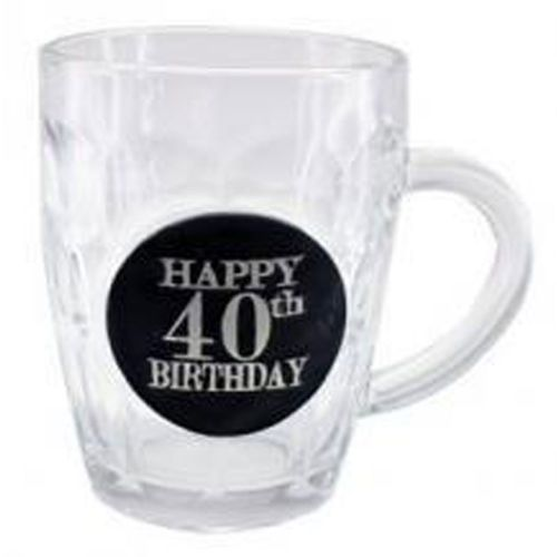Stein Dimple 40th Birthday Black Badge 475ml