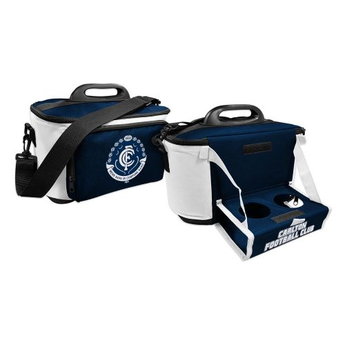 AFL Carlton Cooler Bag with Drop Tray Flat Pack