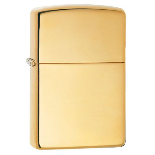 Zippo - High Polished Brass Armor