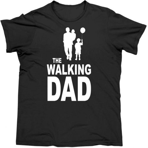 T-shirt the Walking Dad Xl White