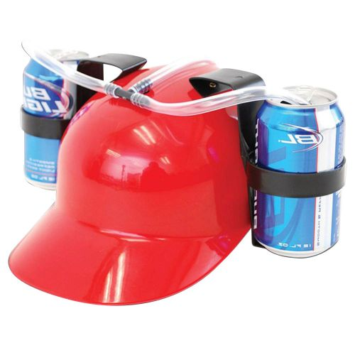 Drink King Drinking Helmet Red