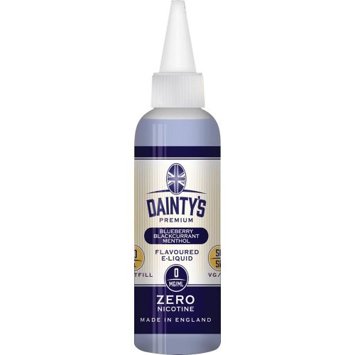 Daintys - Blueberry Blackcurrant Menthol 80ml