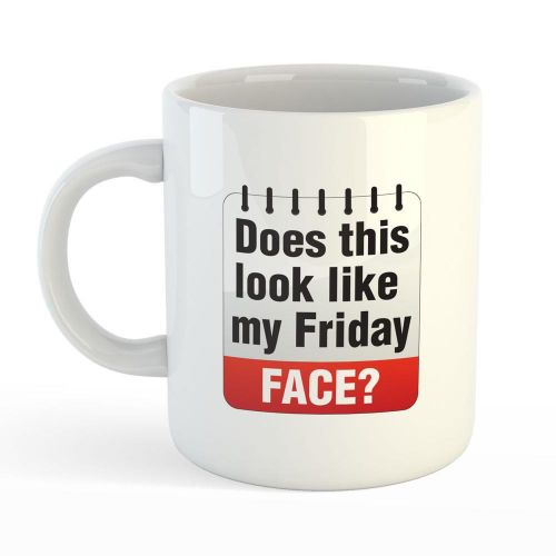 Office Mug - Friday Face