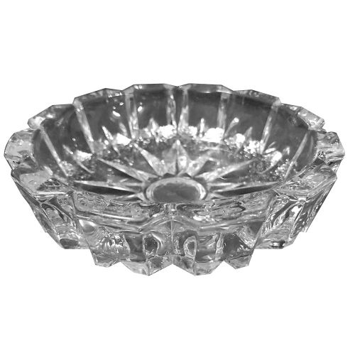 Ashtray Plain Glass