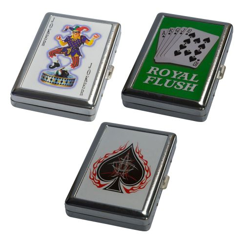 Cigarette Case Cards Metal