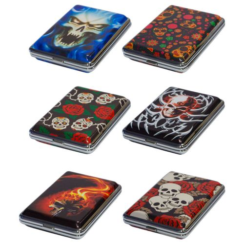 Metal Case Printed Designs Assorted