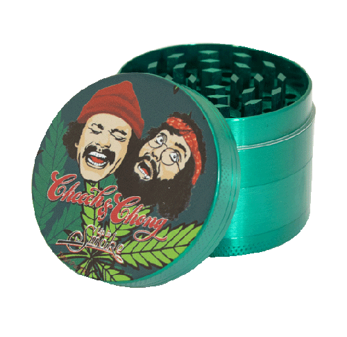 Cheech & Chong Grinder - Green Leaf