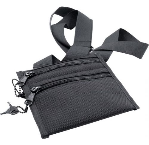 Odourproof Lockable Stash Bag Black