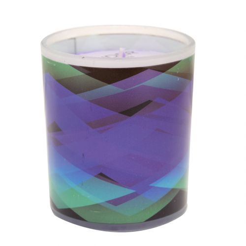 Smoke Eater Candle Psychedelic Waves