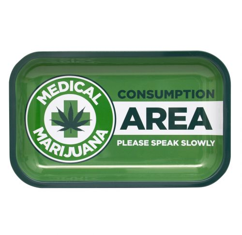 Medical Marijuana Tobacco Rolling Tray