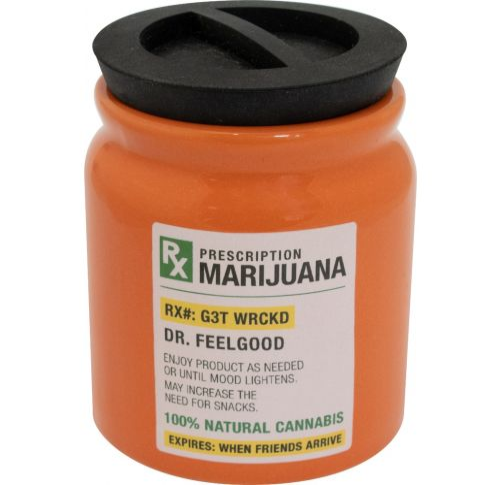 Prescription Marijuana Storage Jar