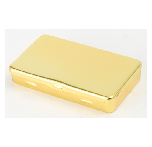 Metal Cig Wallet - Gold