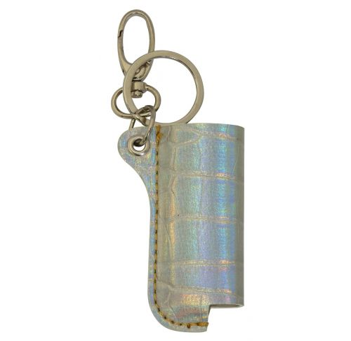 Lighter Case Pearl Crocskin