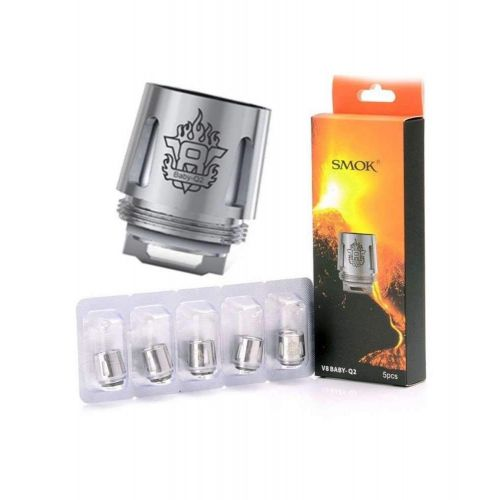 5 Pack SMOK Baby M2 0.25Ohm - Fits All SMOK Units Vape Coil