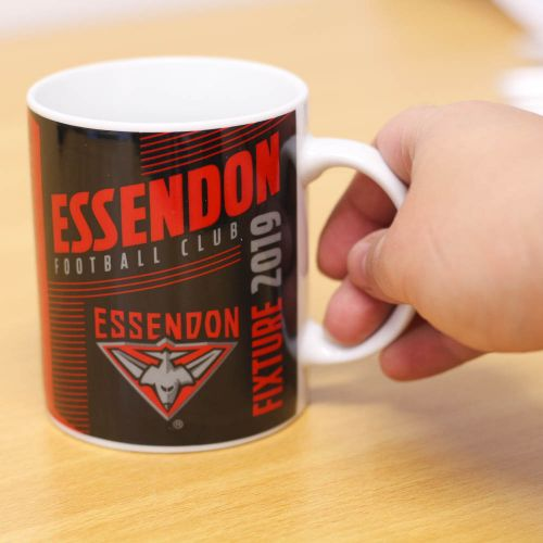 AFL COFFEE MUG FIXTURE 2019 ESSENDON