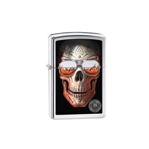 Zippo - Anne Stokes Skull And Glasses