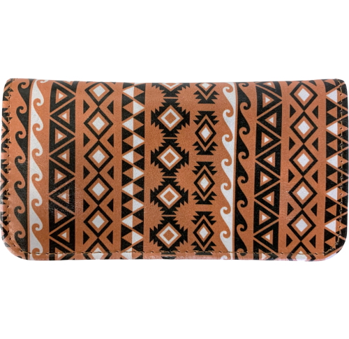 Black Aztec Tobacco Pouch