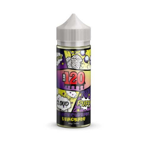 100ML E JUICE IVG TEAM 120 SHORT BLACKCURANT & LEMONADE