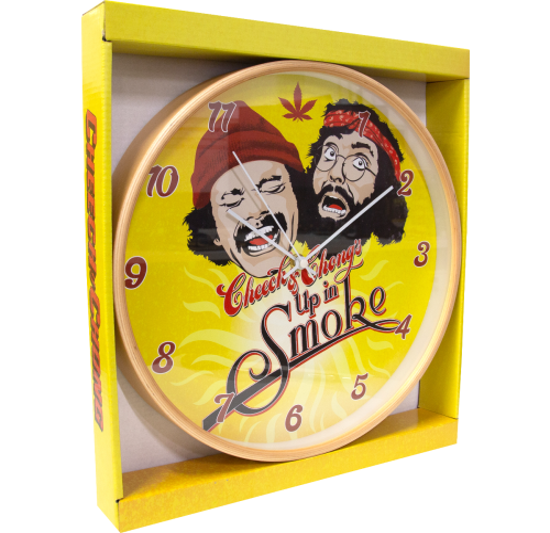 Cheech & Chong Up In Smoke Wall Clock