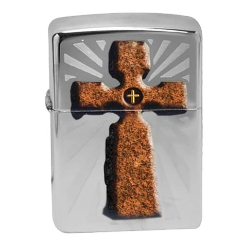 Zippo - Cross High Polished