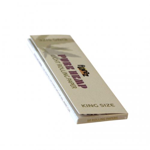 Flarez Pure Hemp King Size Rolling Papers 50 Leaves