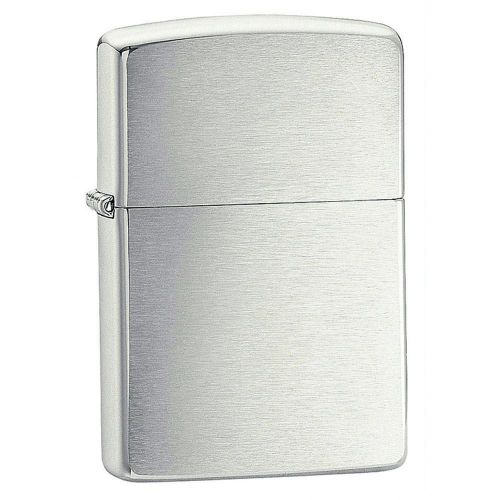 Zippo - Brush Finish Chrome