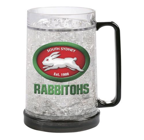NRL Rabbitohs Ezy Freeze Mug  480ml