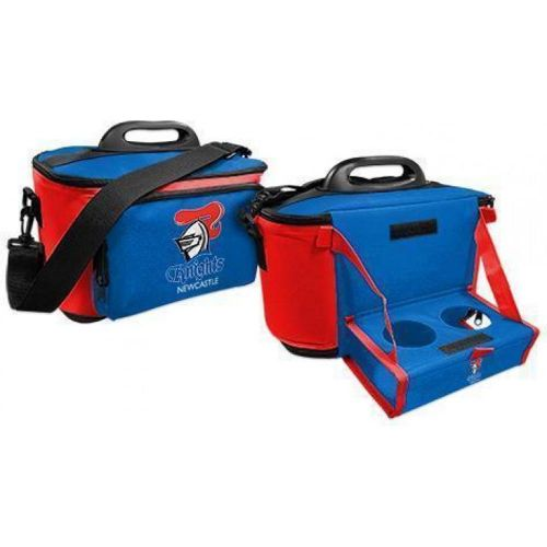NRL Knights Cooler Bag With Drop Tray Flat Pack