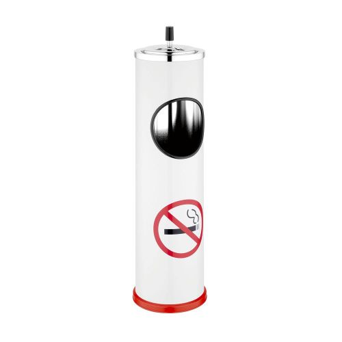 Ashtray Standing No Smoking Sign