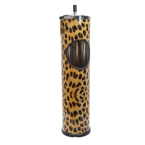 Ashtray Standing Leopard Print