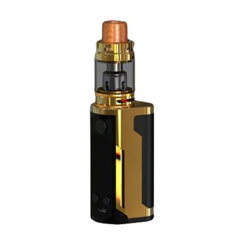 Wismec Reuleaux Rx Gen3 Dual With Gnome King 230W 5.8ml Gloss Gold Vape Kit