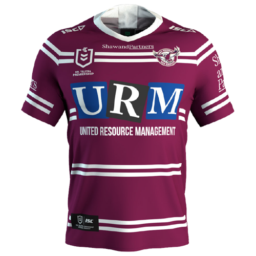 Nrl Manly Home Jersey