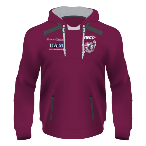 NRL Adults Squad Hoodie Manly