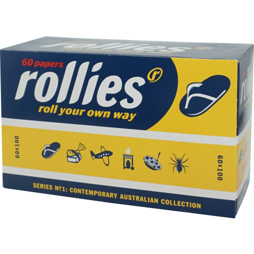 Rollies Rolling Papers 6,000 Leaves (100x60L)
