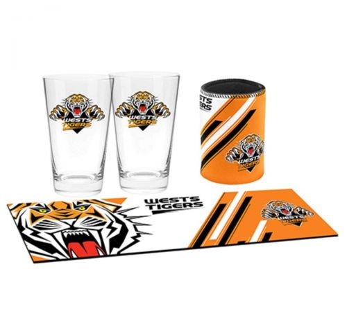 NRL Wests Tigers Bar Essentials Gift Pack