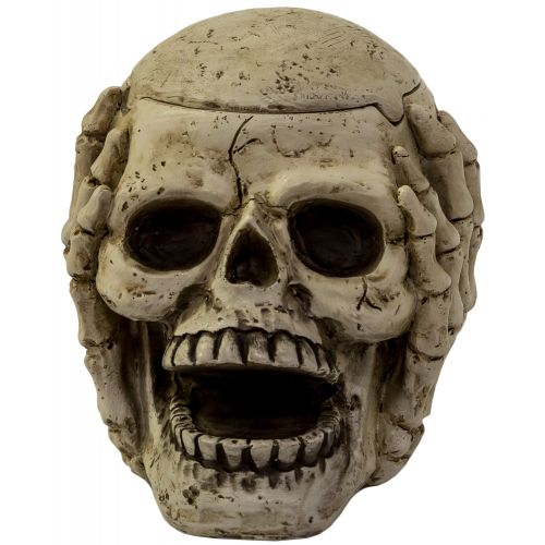 Ashtray Skull Hear No Evil