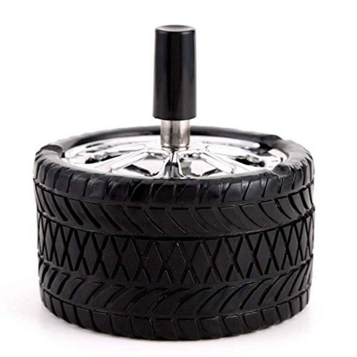 Spinning Ashtray Tyre