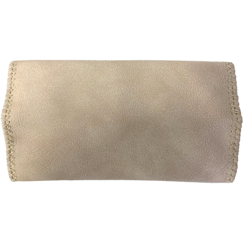 Deluxe Cream Suede King Size Tobacco Pouch