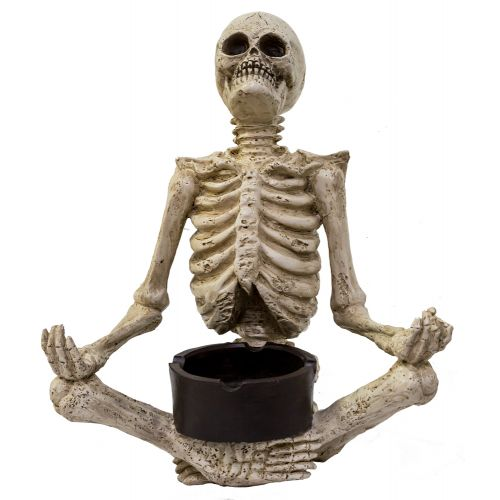 Ashtray Yoga Skelly Meditate
