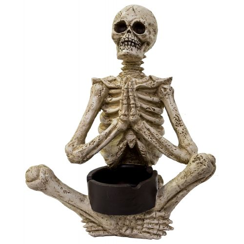 Ashtray Yoga Skelly Pray