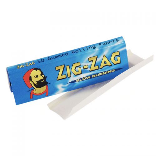 Zig Zag Double Blue Rolling Papers 50 Leaves