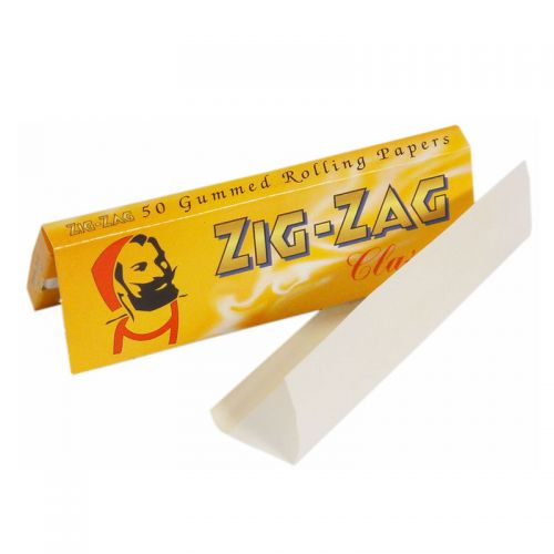Zig Zag Double Yellow Rolling Papers 50 Leaves