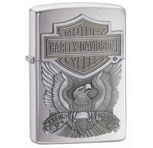 Zippo - Harley Davidson Pewter