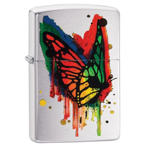 Zippo - Brushed Butterfly
